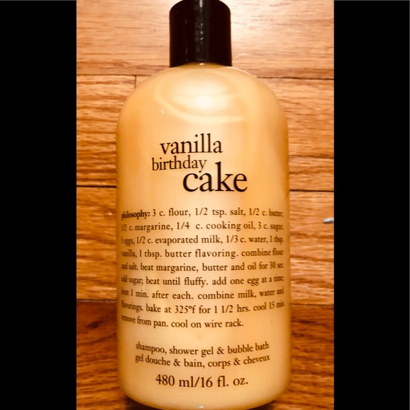 Philosophy Vanilla Birthday Cake Body Wash